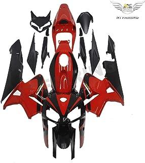 Black Red Injection Full Fairings Kit fit for Honda 2005 2006 CBR 600RR
