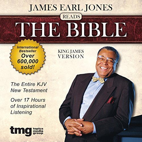 James Earl Jones Reads The Bible: King James Version                   By:                                                                                                                                 Topics Media Group                               Narrated by:                                                                                                                                 James Earl Jones                      Length: 17 hrs and 15 mins     620 ratings     Overall 4.4
