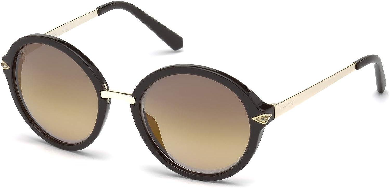 Swarovski Women's SK0153 Round Sunglasses