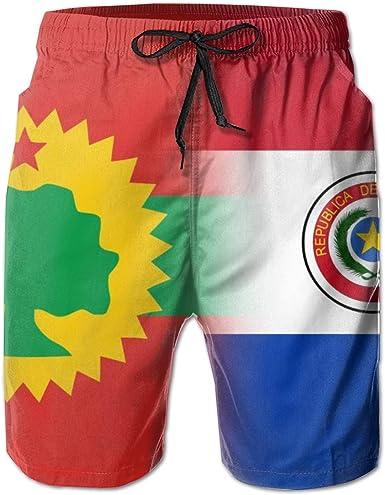 LI-YULU Flag of The Oromo Liberation Front&Germany Mens Quick Dry ...