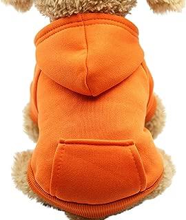 ペット服 小型犬 パーカー Tengatel 秋冬用 無地 コート 防寒 ダウン チワワ服 お散歩 お出かけ トイプードル服 犬猫用 ペットウェア かわいい ペット服 洋服 暖かい よい肌触り ドッグウエア 柔らかい 小中型犬服 インスタ映え