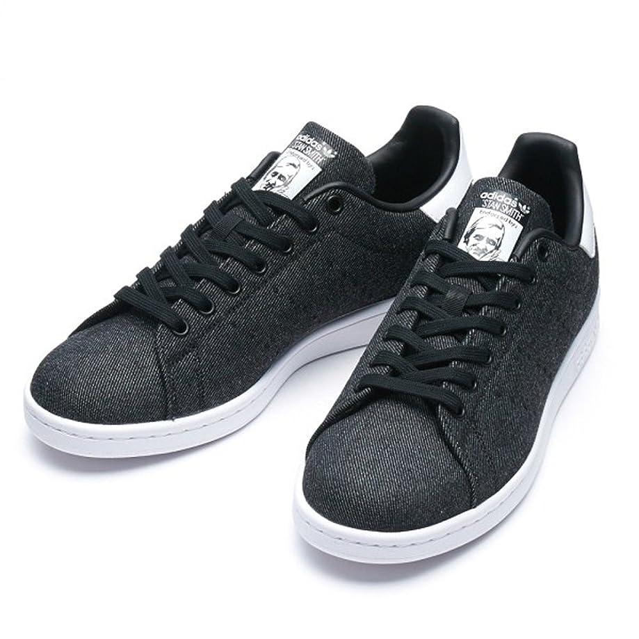 偽物バレーボール特殊日本国内正規品 adidas アディダス オリジナルス スタンスミス デニム [STAN SMITH DENIM] ブラック/ブラック/ホワイト BY9189