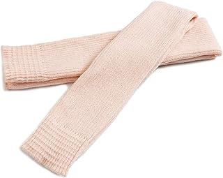Calentador de piernas para Mujer Calcetines largo de la pierna calentadores de punto por Encima de la Rodilla hasta el Muslo para Danza Yoga 75 cm