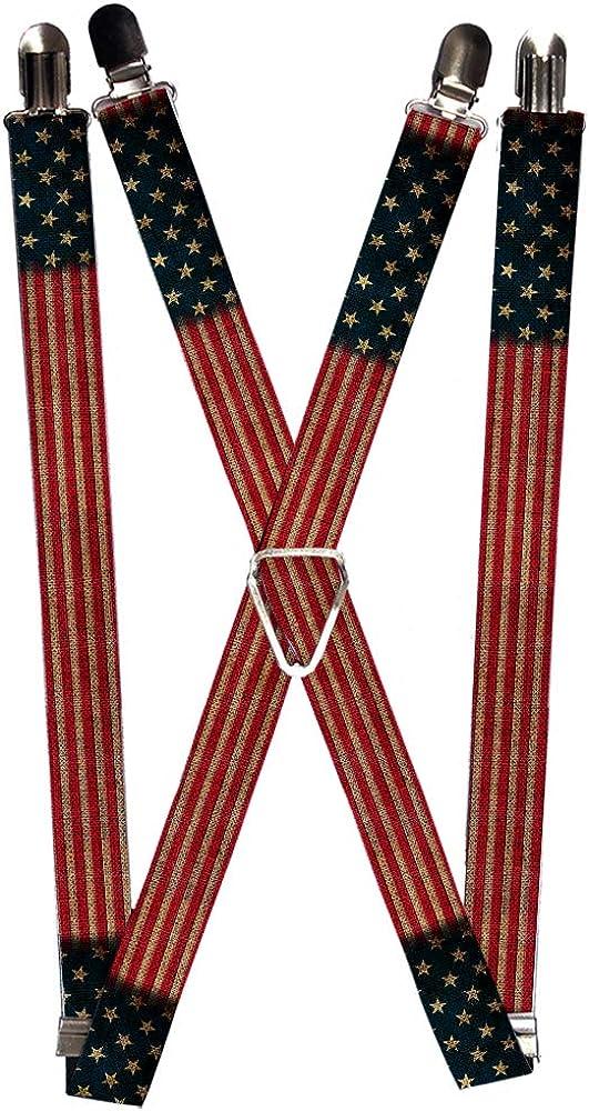 Buckle-Down Men's Suspender-United States
