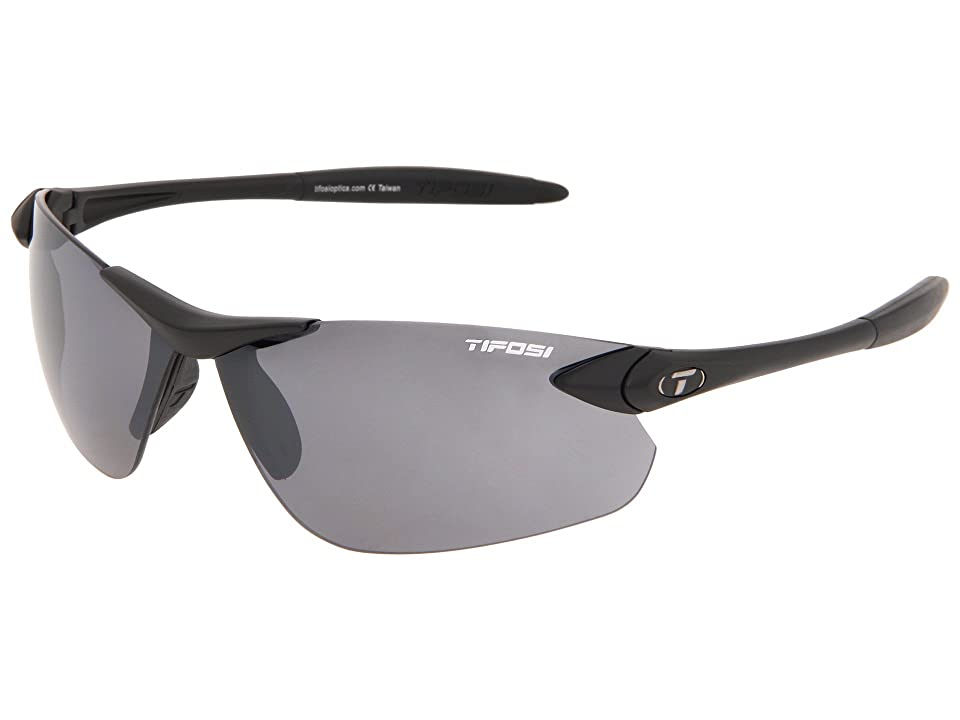 Tifosi Optics Seektm FC (Matte Black) Athletic Performance Sport Sunglasses