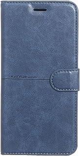 جراب قلاب من الجلد لهاتف Infinix Zero 8 باللون الأزرق من Kaiyue