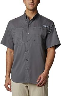 Mens PFG Tamiami Ii Short Sleeve Fishing Shirt