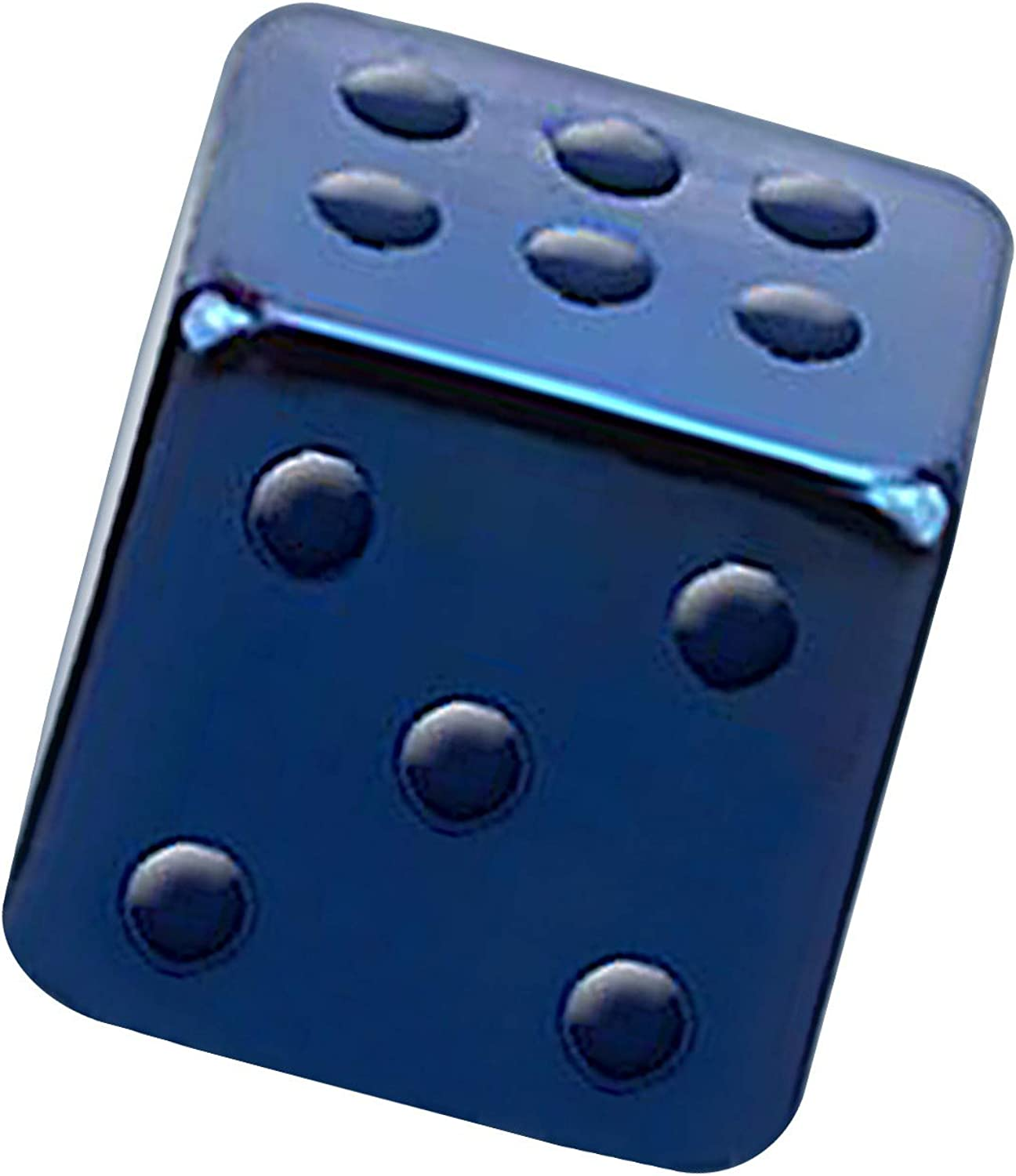 VOTREPIERCING Blue Anodized Classic 316L Steel Dice Only Piercing Complete Free Shipping Loose