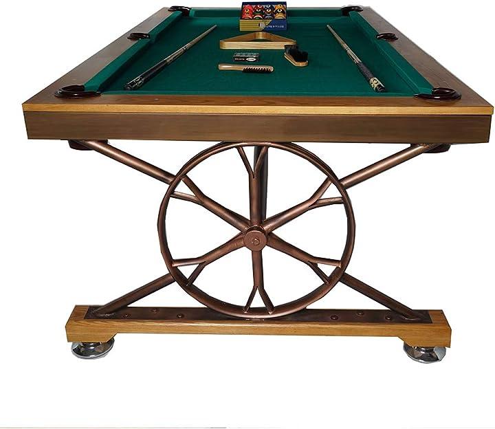 Tavolo da biliardo,pool table, tavolo da gioco,segnapunti e palline incluse, biliardino, wxxw 981-205-157