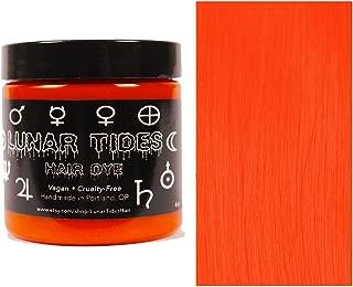 Lunar Tides Hair Dye - Siam Bright Orange Semi-Permanent Vegan Hair Color (4 fl oz / 118 ml)