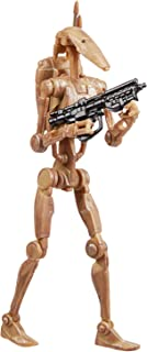 Star Wars The Vintage Collection Battle Droid Toy, 3.75-Inch-Scale Star Wars: The Phantom Menace Figure, Toys for Kids Age...