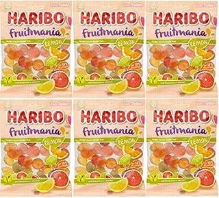 HARIBO ハリボー フルーツマニア レモン 175g ×6袋 ゼラチン不使用 ベジタリアン認証 (2021年発売)