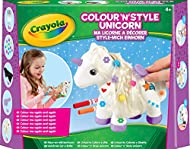 Personalise your Crayola colour and style unicorn again and again with dry erase markers, beads and a hairbrush Includes a pretty unicorn that can be decorated again and again Create patterns with the dry erase pens, then glam up its mane and tail us...