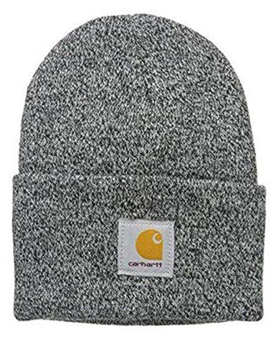 Carhartt Gorra Acrílico - Negro/Blanco Iconic Watch Hat A18019 CHA18019BLACKWHITE-One Size