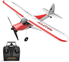 Crazypig Remote Control Airplane, RC Plane 4CH Airplane Aircraft Built in Gyro System Easy to Fly RTF Sport Cub, Ready to ...