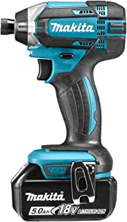 Makita DTD152RTJ 18V Li-ion LXT Impact Driver Complete with 2 x 5.0 Ah Batteries and Charger Supplied in a Makpac Case