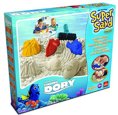 Goliath 83270 | Super-Sand-Set Disney-Finding-Dory | baue Dein traumhaftes Korallenriff aus Super Sand erlebe spannende Abenteuer mit Dorie, Nemo und Co. | ab 4 Jahren