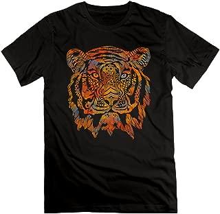 Design T Shirt Men Tiger Fearless Morden Tshirt