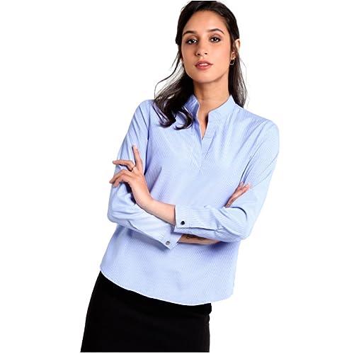 2f53b1979b5 Women s Formal Shirts  Buy Women s Formal Shirts Online at Best ...