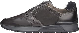 Nero Giardini A800469U Sneakers Uomo in Pelle E Camoscio