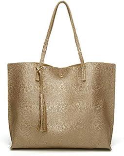 PU-Leder-Handtaschen für Frauen, Damen-Handtasche, Tragetasche, weiches PU-Leder, große Kapazität, Damen-Handtasche mit Gr...