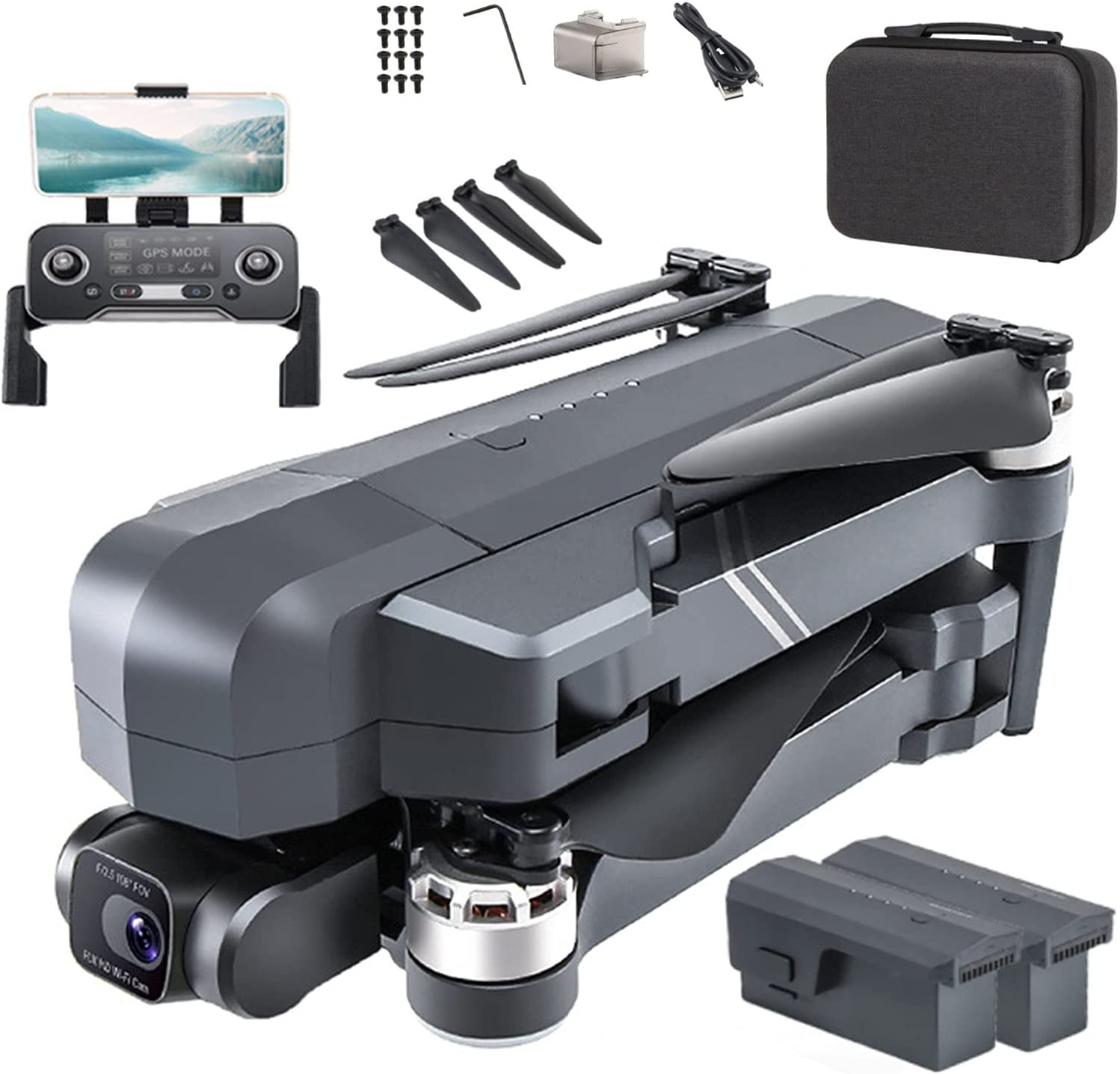 UAUA Ultralight and Foldable Drone Gimbal with 4K Ca Quadcopter Max 69% OFF Max 60% OFF