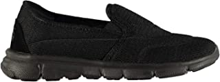Slazenger Women Zeal Slip On Ladies Shoes Trainers Black Mesh UK 4 (37)