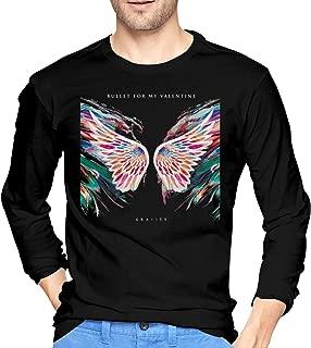 Bullet for My Valentine Gravity Cotton Men's T Shirt Comfort Long Sleeve Men's T Shirts Black