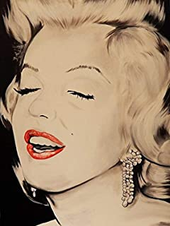 Buyartforless Breath Taking Marilyn Monroe by Ed Capeau 18x12 Art Print Poster Hollywood Icon Made in The USA