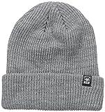 Obey - Cappello invernale da uomo Grigio mlange Taglia unica
