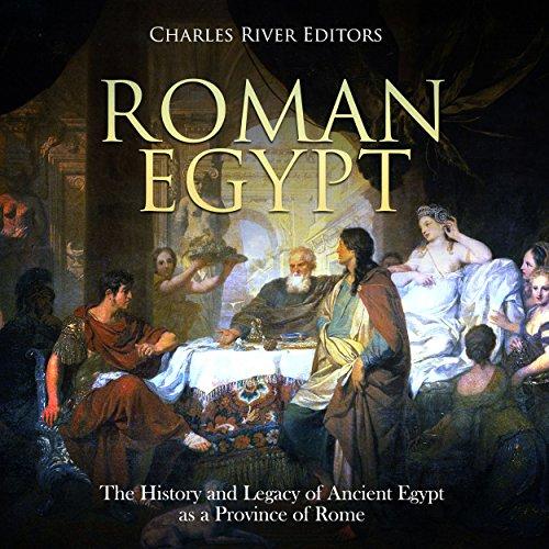 Roman Egypt audiobook cover art