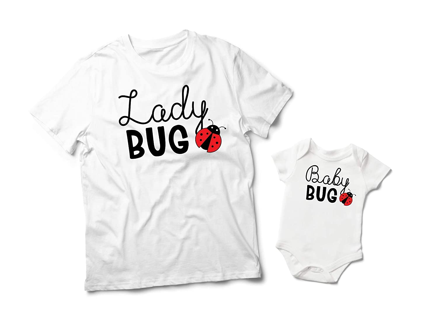 Ladybug Mother Daughter Matching Max 61% OFF Outfits Baby Shirts Ranking TOP9 Lady Bug
