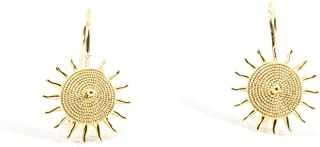 Marrocu Gioielli - Orecchini Sole Corbula Oro Giallo 18kt