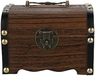 Piggy Bank-Wooden piggy bank safe money box savings with lock