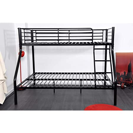 Hubi Loft Bunk Bed Cama alta, madera, Blanco, 180x80x160 ...
