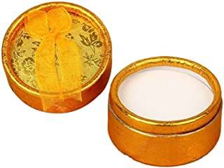 5PCS Colorful Round Shape Small Jewellery Gift Case Boxes for Ring Earrings Jewelry Display Xuanhemen