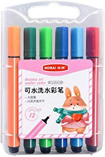 Children Art Marker Pens Tip - Neon Color Liquid Chalk Markers - for Blackboards, Chalkboard, Window, Glass 3ML Drawing Wa...