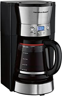 Hamilton Beach 46895 12 Cup Programmable Coffee Maker, Black