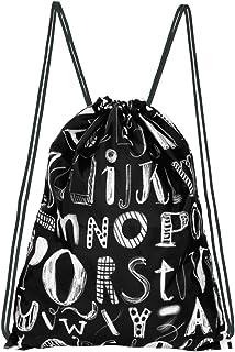 moses. Rucksack ABC, Faltbarer Backpack, umweltfreundlich, wiederverwendbar Turnbeutel, 42 cm, Mehrfarbig