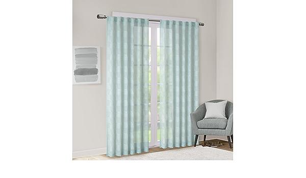 WZDTNL Cortina curvada de pl/ástico flexible flexible para ventanas y balcones y ventanas