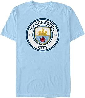 Manchester City FC Authentic EPL Sky Crest T- Shirt Medium 38/40
