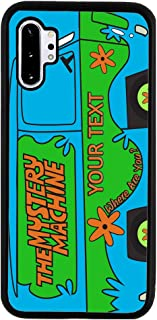 BRGiftShop Personalized Custom Name The Mystery Machine Van Rubber Phone Case for Samsung Galaxy Note 10 Plus