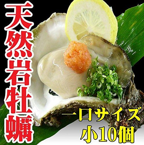 岩牡蠣 天然 日本海産 小10個 1.6〜1.9k 生食用 カラ割り 殻付き 岩がき 岩ガキ お中元 ギフト 贈答 バーベキュー