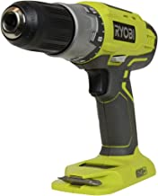 Ryobi P277 One+ 18 Volt Lithium Ion 1/2 Inch 2-Speed Drill Driver (18 Volt Batteries Not..