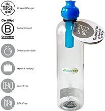 The Tea Spot Steep & Go - Cold Brew Tea Bottle   BPA-Free Tritan Plastic Tea Tumbler with Loose Leaf Tea Filter and Sports Cap - 20 oz.
