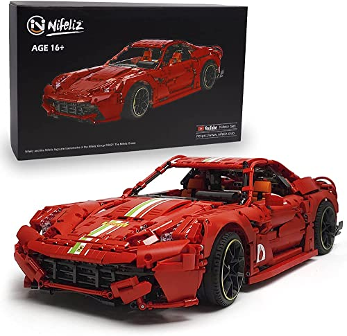 discount Nifeliz Super Car E12 MOC Building Blocks and Engineering popular Toy, Adult Collectible Model Cars Kits to Build, 1:8 Scale Race Car Model,New 2021 outlet sale (3560+ Pieces) online