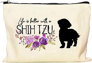 Shih Tzu Life is Better Makeup Bag