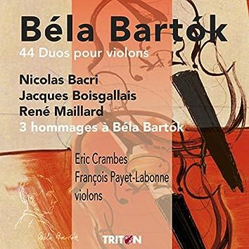 Béla Bartok: 44 duos pour violons