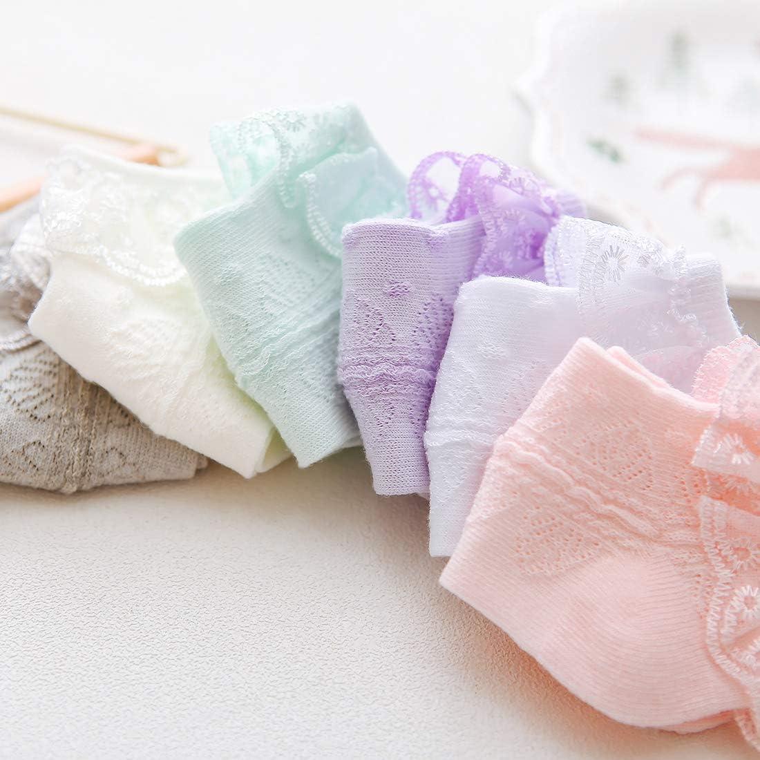Baby Girl Socks Newborn Infant Ruffle Lace Sock Cute Soft Dress Socks Toddler Socks