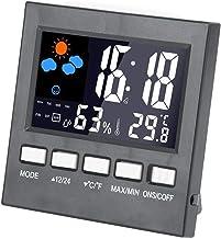 eecoo Termómetro Higrómetro, Termómetro Digital para el hogar Higrómetro Temperatura del Aire Medidor de probador de Humedad Medidor